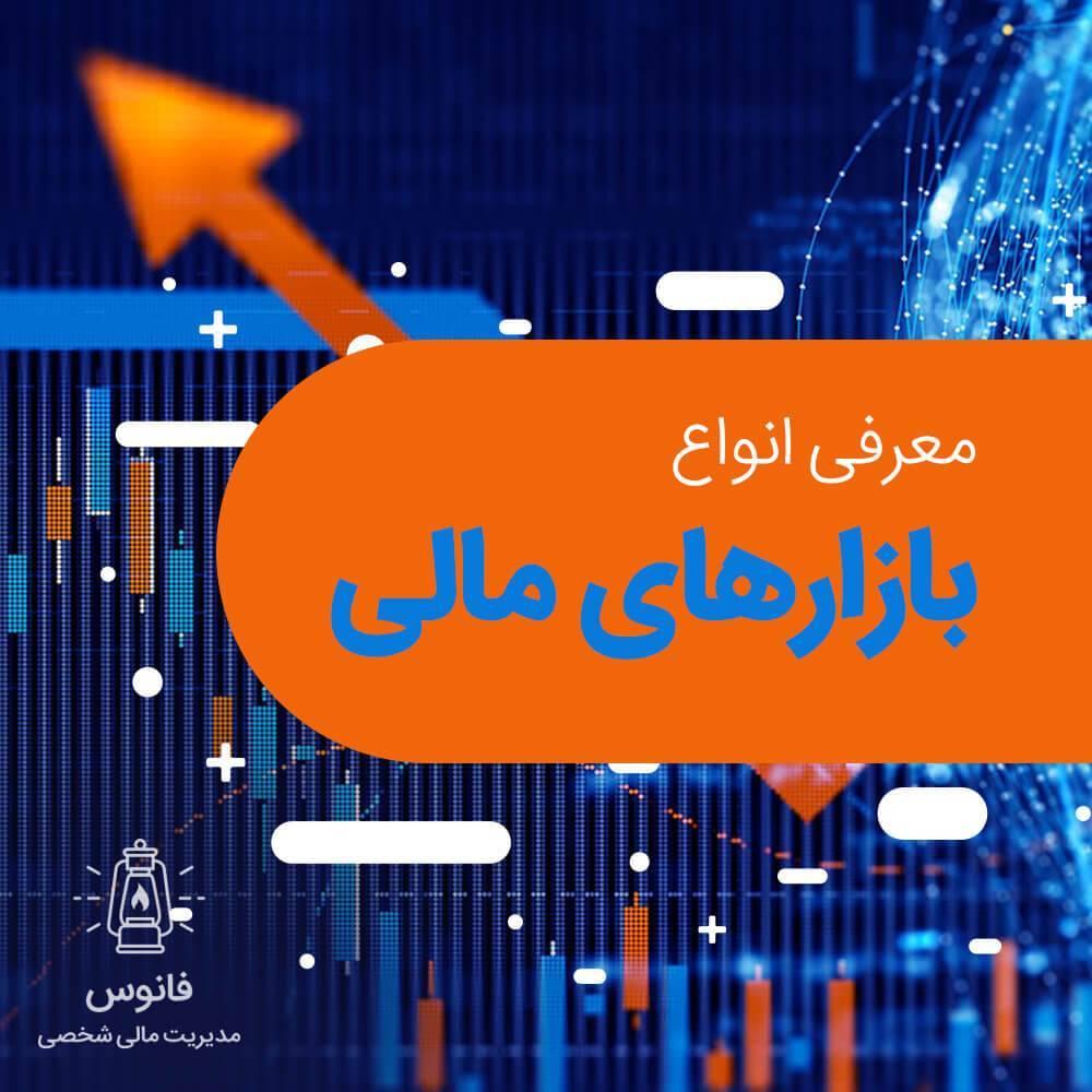 بازار مالی | سرمایه گذاری | بورس | انواع بازارهای مالی | سهام | بازار پول